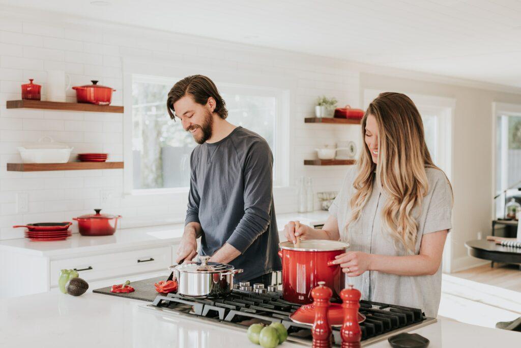 Valentinstag zu Hause kochen